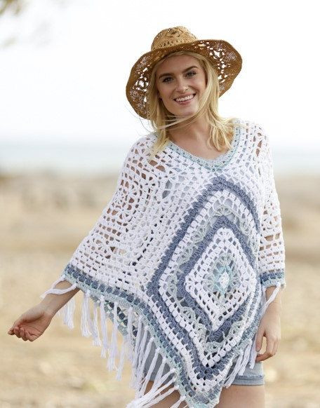 17 best images about crochet granny square shawl and
