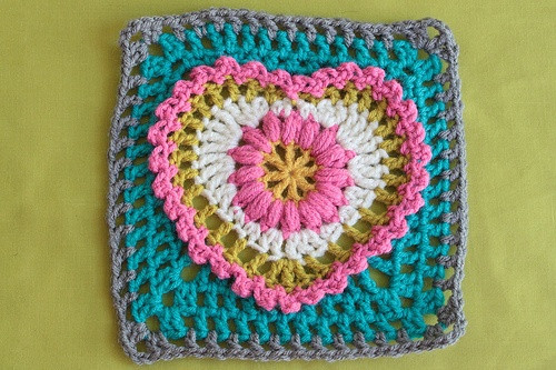 New 17 Best Images About Crochet Hearts On Pinterest Heart Granny Square Of Brilliant 41 Pictures Heart Granny Square