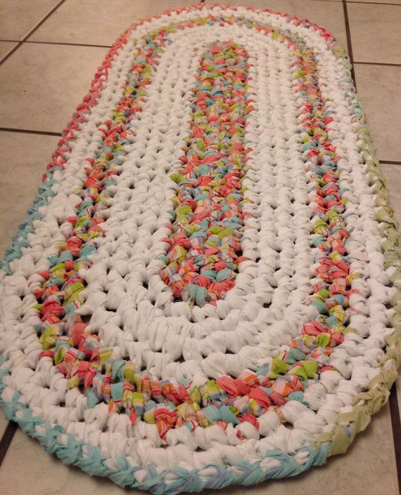 New 17 Best Images About Rag Rugs On Pinterest Hand Crochet Rug Of Contemporary 41 Models Hand Crochet Rug