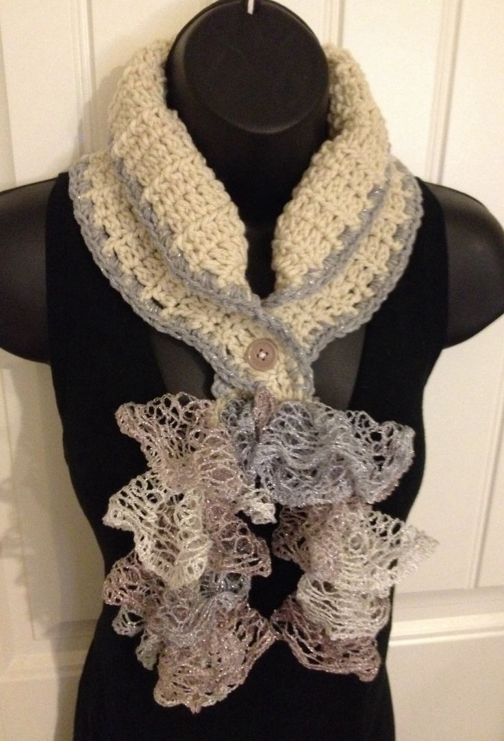 New 17 Best Images About Sashay Scarves Patterns On Pinterest Crochet Ruffle Scarf Of Lovely 41 Models Crochet Ruffle Scarf