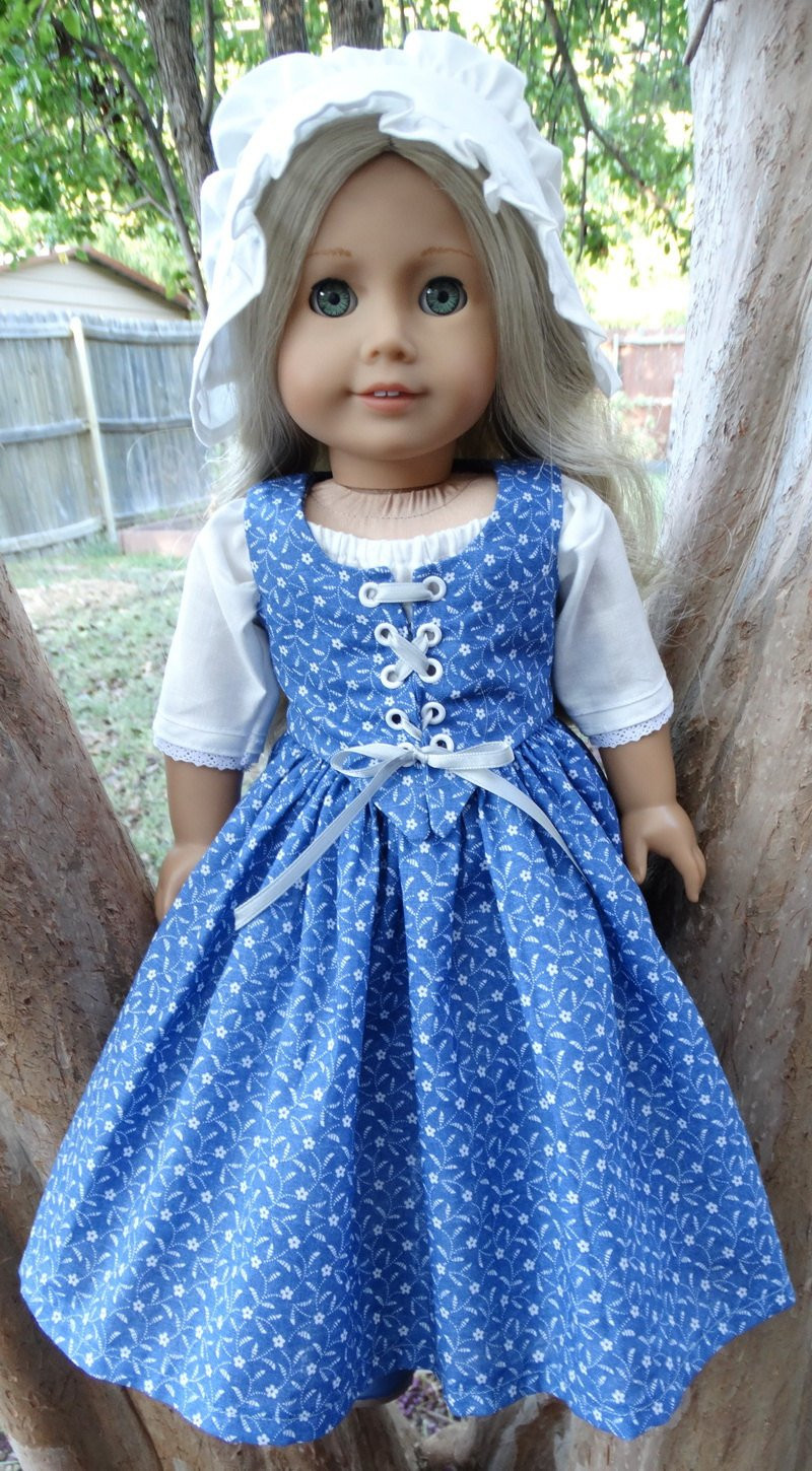 New 18 Doll Clothes Colonial Style Dress Fits American Girl American Doll Dresses Of Great 47 Images American Doll Dresses