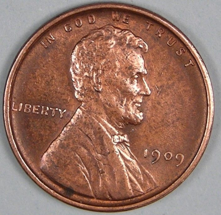 New 1909 Vdb Lincoln Wheat Penny Cent Em 617 Wheat Penny Prices Of Adorable 50 Pics Wheat Penny Prices