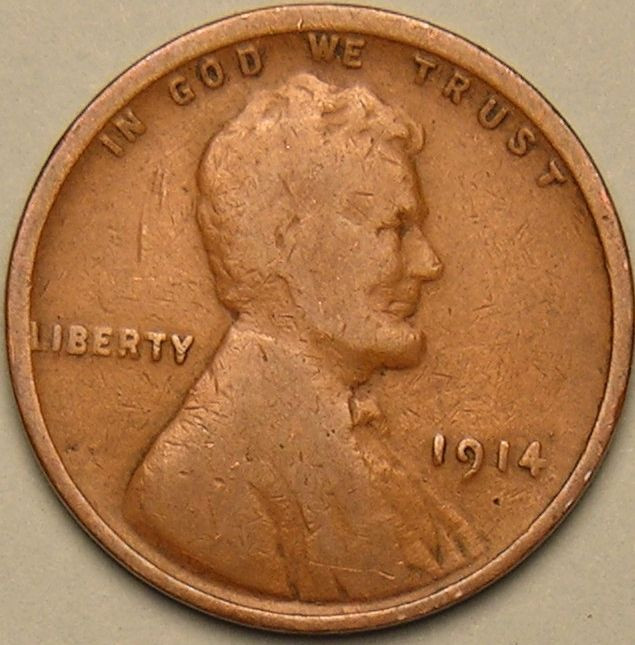 New 1914 P Lincoln Wheat Penny Cent Ac 365 Wheat Penny Prices Of Adorable 50 Pics Wheat Penny Prices