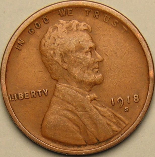 New 1918 S Lincoln Wheat Penny Cent Ab 730 Wheat Penny Prices Of Adorable 50 Pics Wheat Penny Prices