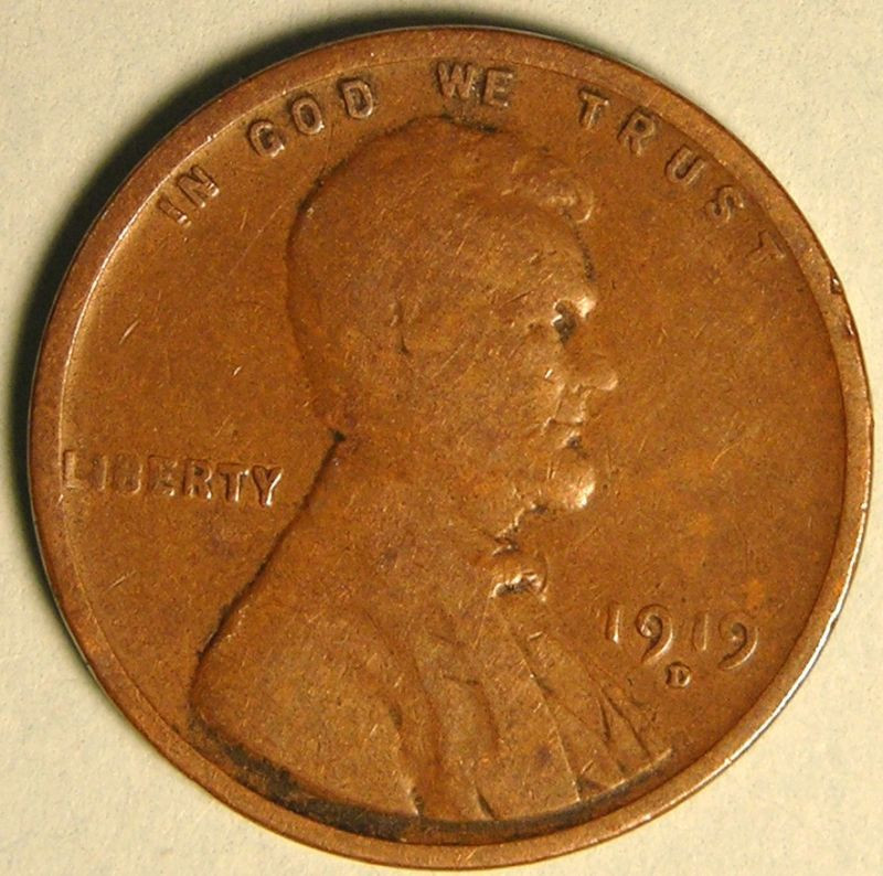 New 1919 D Lincoln Wheat Penny Cent Ed 62 Lincoln Head Penny Of Great 48 Models Lincoln Head Penny