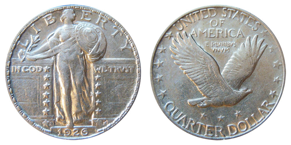 New 1926 S Standing Liberty Quarters Type 2 Value and Prices Liberty Quarter Value Of Contemporary 45 Photos Liberty Quarter Value