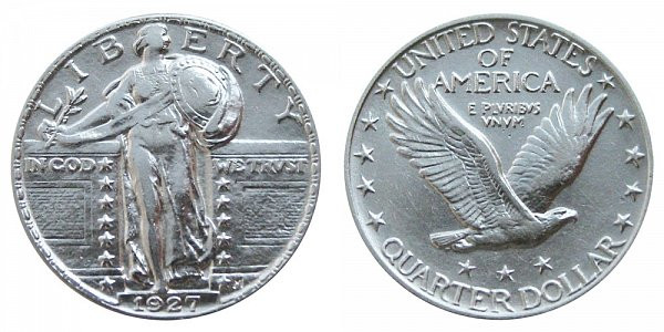 New 1927 P Standing Liberty Quarters Type 2 Value and Prices Standing Liberty Quarter Value Of Awesome 49 Photos Standing Liberty Quarter Value