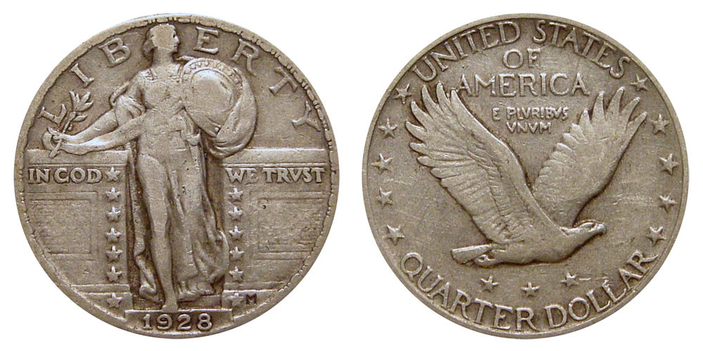New 1928 Standing Liberty Quarters Type 2 Value and Prices Liberty Quarter Value Of Contemporary 45 Photos Liberty Quarter Value