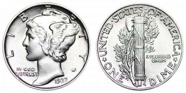 New 1937 P Mercury Dimes Winged Liberty Silver Dime Value and Mercury Dime Prices Of Superb 49 Ideas Mercury Dime Prices