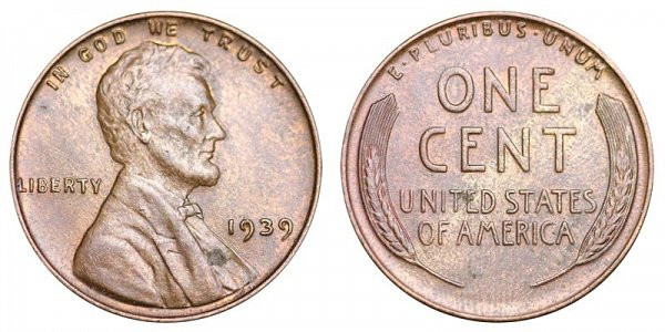New 1939 P Lincoln Wheat Cent Bronze Posite Penny Value Lincoln Cent Values Of Amazing 50 Images Lincoln Cent Values