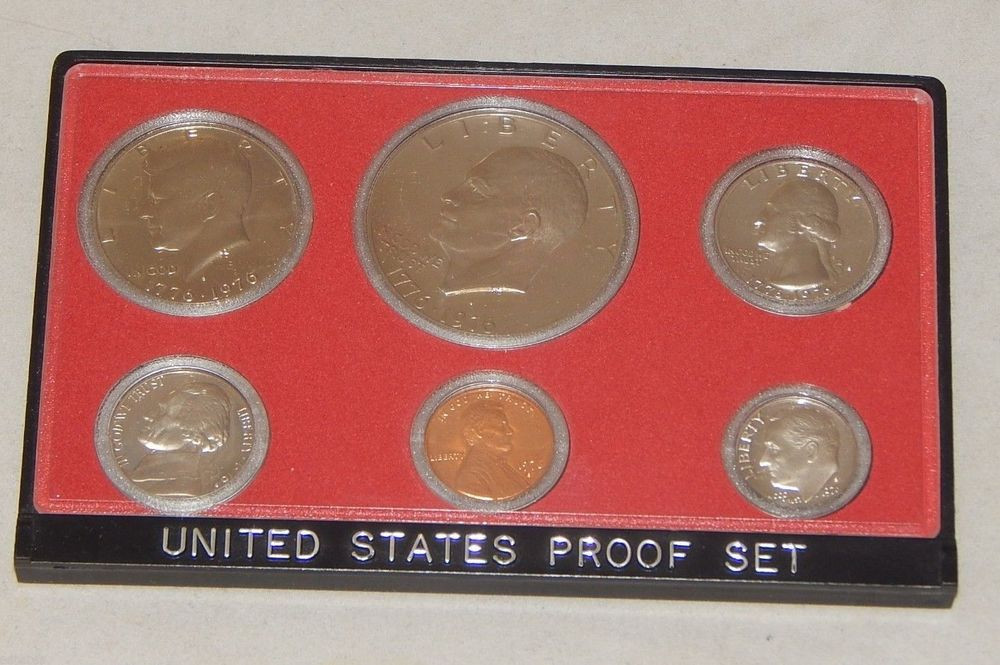 1976 S US Mint Proof Bicentennial Coin Set United States