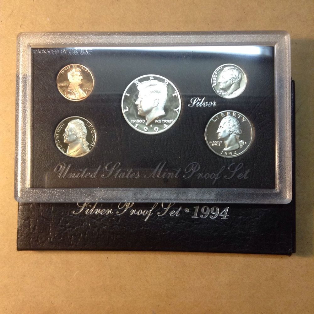 New 1994 Us Mint Silver Proof Set Proof Sets Of Great 40 Photos Proof Sets