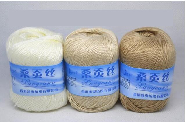 New 1pc=50g Mulberry Silk Thread Hand Knitting Yarn Crochet Bamboo Crochet Thread Of Awesome 29 Pics Bamboo Crochet Thread