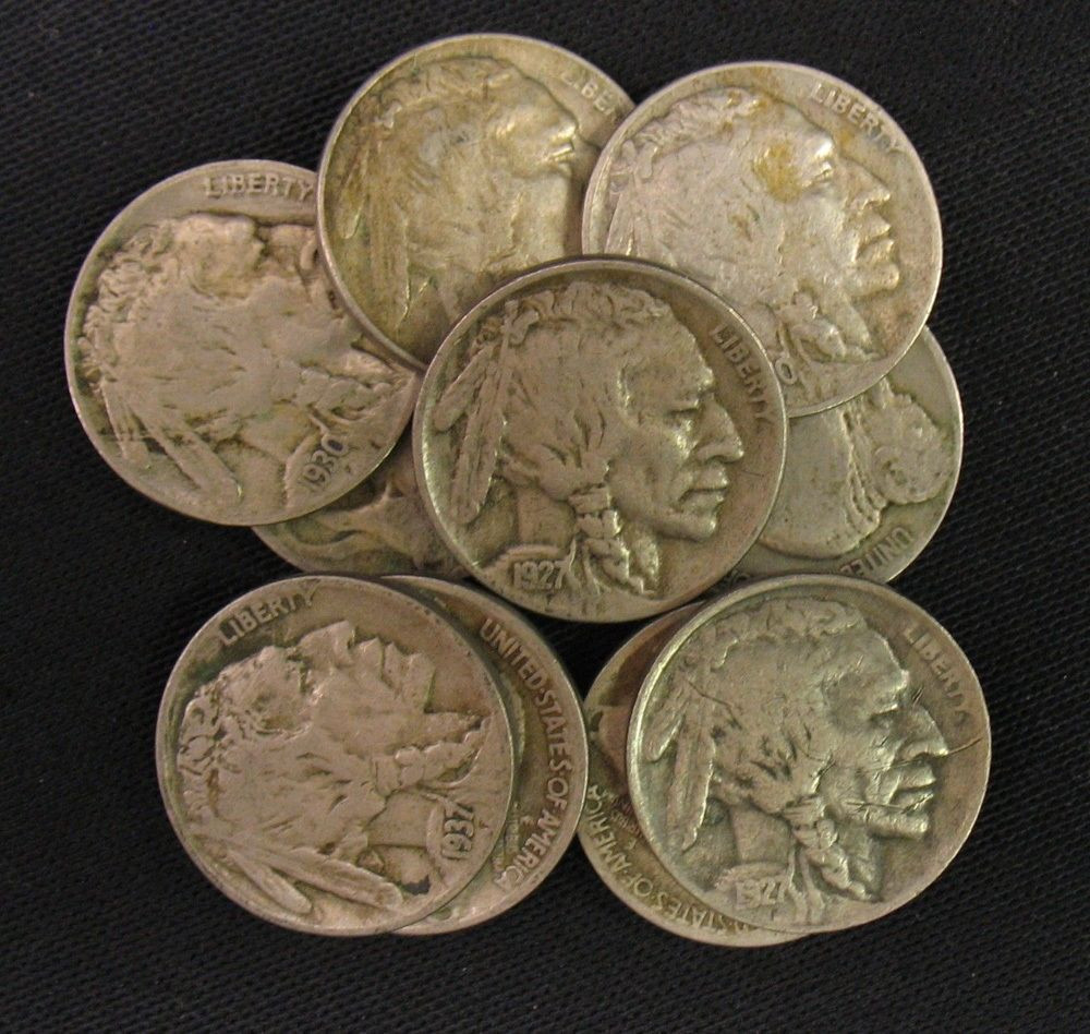 New 20 Full Date Old American Buffalo Nickel Lot Collection Valuable Us Quarters Of Charming 41 Models Valuable Us Quarters