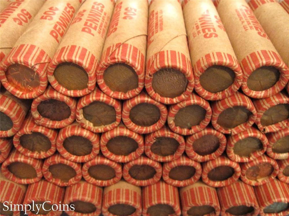New 20 Lincoln Wheat Penny Rolls 1000 Pennies Cents Us Coin Wheat Penny Rolls Of Awesome 43 Photos Wheat Penny Rolls