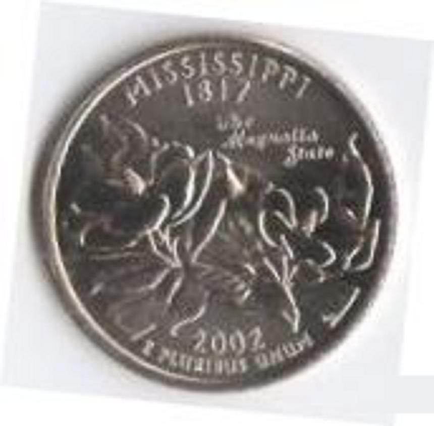 New 2002 Mississippi No20 50 State Quarters Multiple P D 50 State Commemorative Quarter Of Great 29 Models 50 State Commemorative Quarter