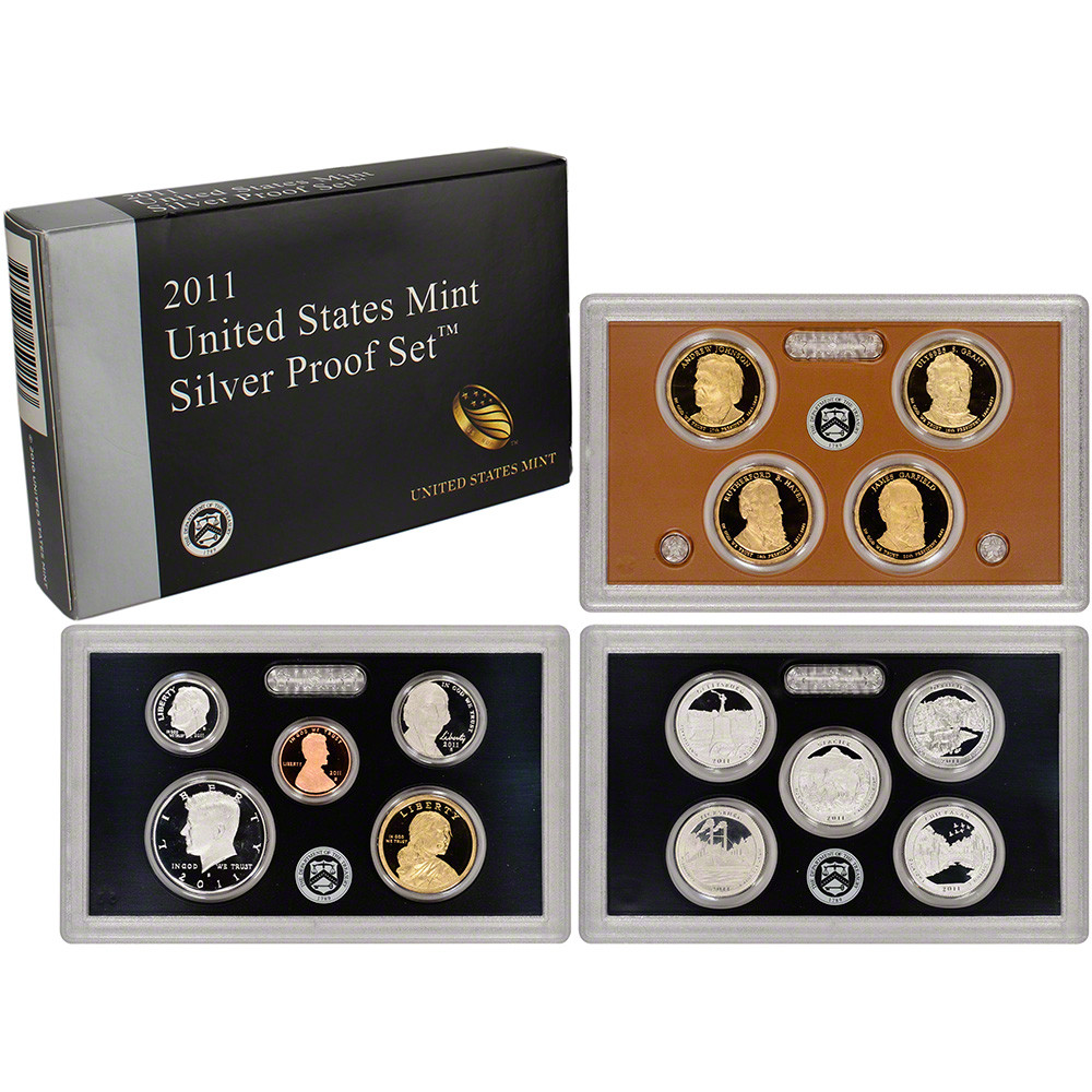 New 2011 Us Mint Silver Proof Set Proof Sets Of Great 40 Photos Proof Sets