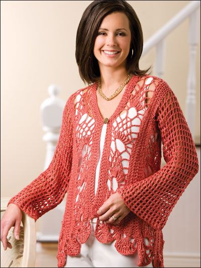 crochet free sweater and cardigan patterns