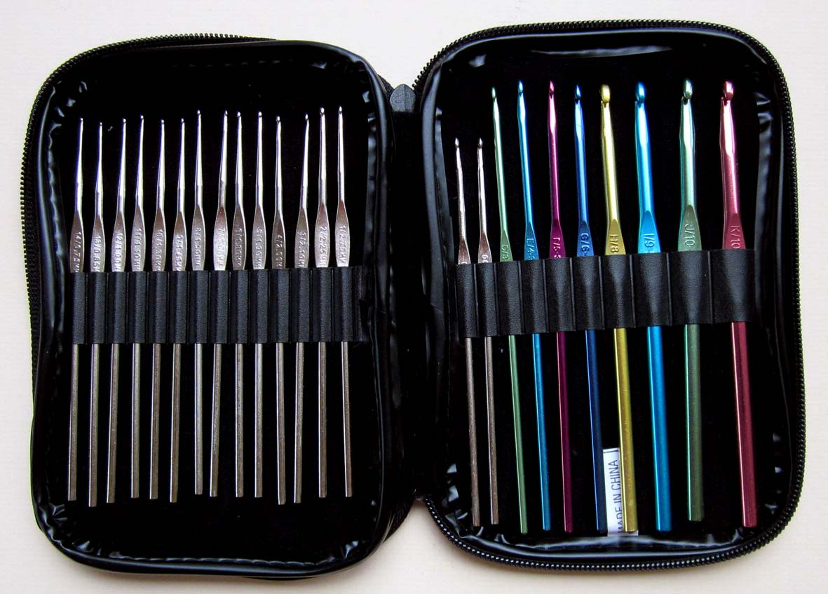 New 24 Piece Crochet Hook Set Crochet Hook Sets with Case Of Amazing 49 Images Crochet Hook Sets with Case
