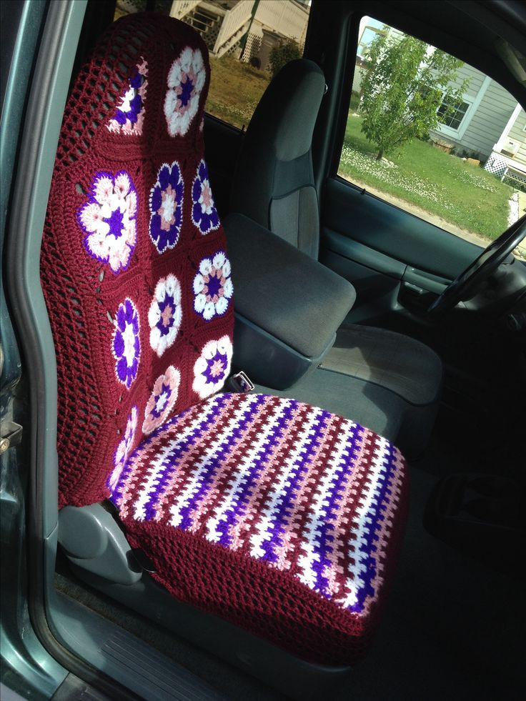 New 25 Best Ideas About Crochet Car On Pinterest Seat Cover Pattern Of Superb 46 Photos Seat Cover Pattern