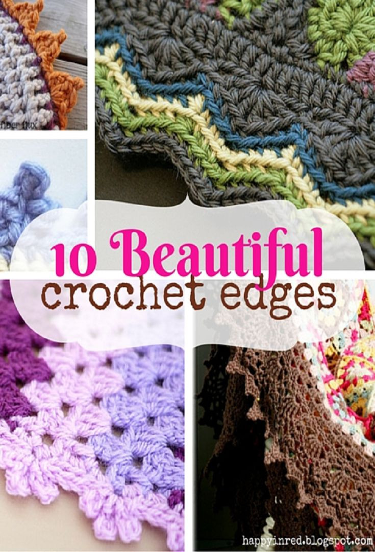 New 25 Best Ideas About Crochet Edging Tutorial On Pinterest Pretty Crochet Stitches Of Incredible 48 Pics Pretty Crochet Stitches