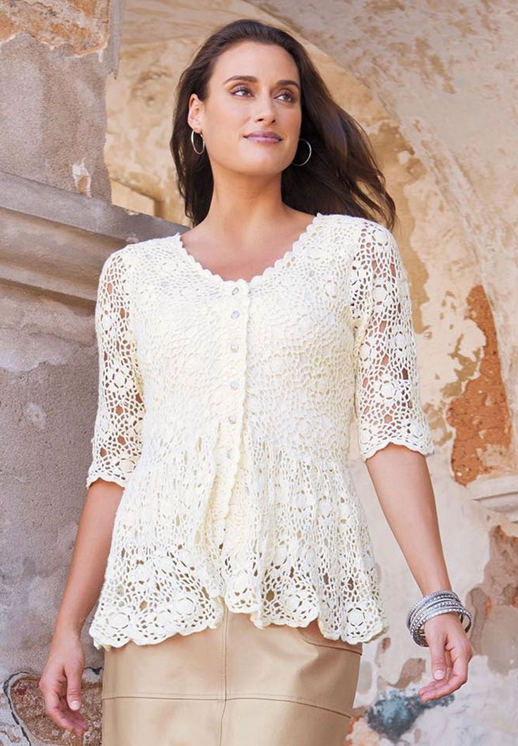 New 25 Best Images About Plus Size Fashion On Pinterest Crochet tops Of Superb 50 Photos Crochet tops