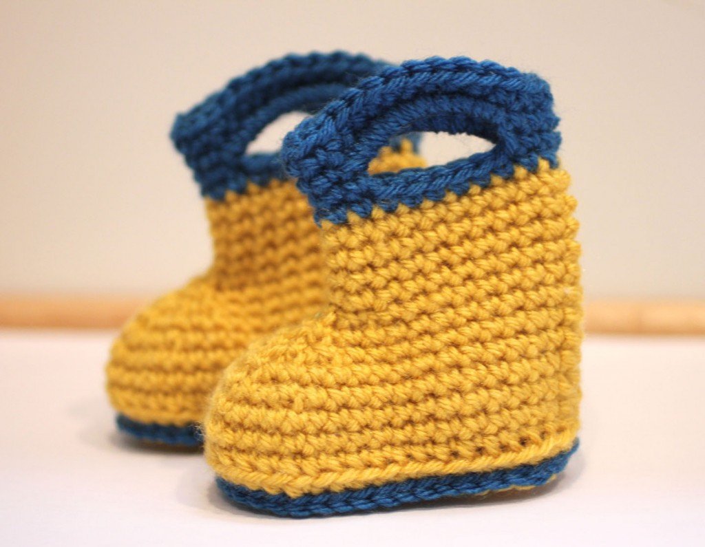 30 Crochet Baby Booties Ideas For Your Little Prince