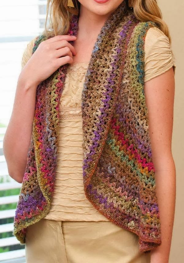 New 32 Free Crochet Vest Patterns for Beginners Patterns Hub Free Crochet Womens Vest Patterns Of Great 41 Pics Free Crochet Womens Vest Patterns