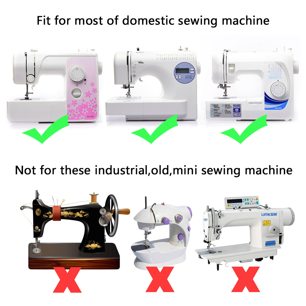 New 32pcs Domestic Sewing Machine Presser Foot Feet Set for Brother Sewing Machine Feet Of Top 45 Photos Brother Sewing Machine Feet