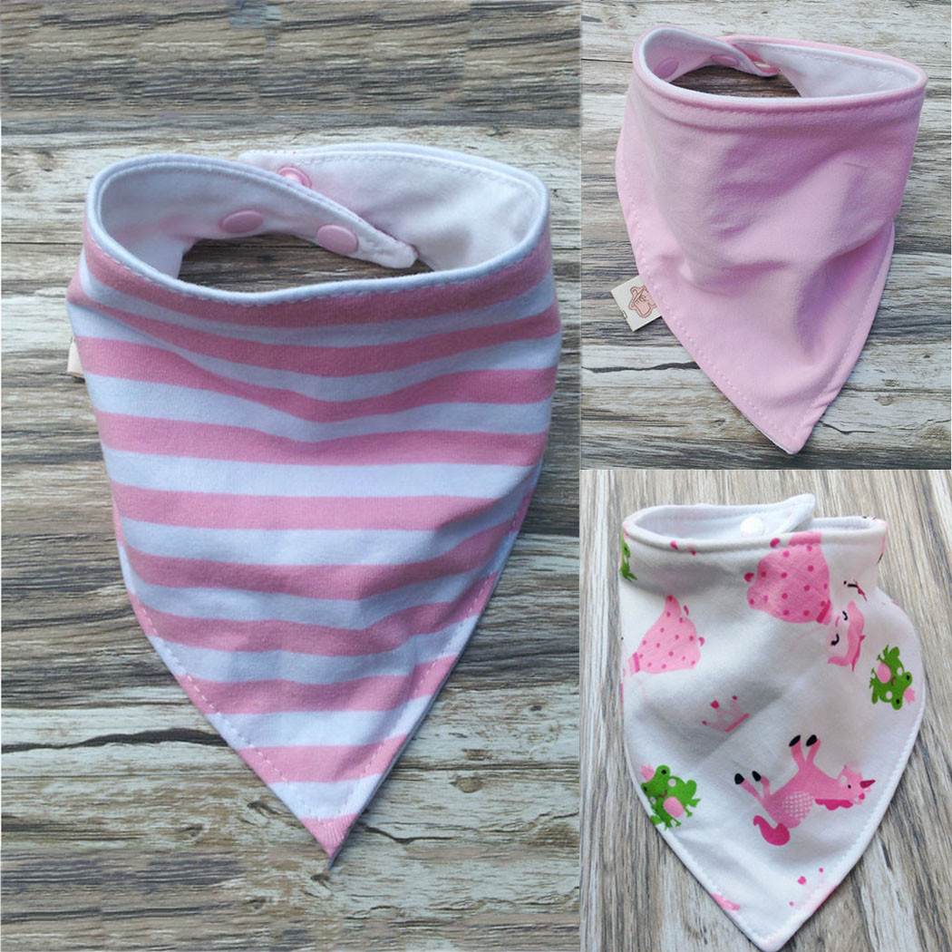 New 3pcs Baby Bibs Kids Head Scarf towel New Boy Girl Dribble Children's Scarves Of New 48 Pictures Children's Scarves