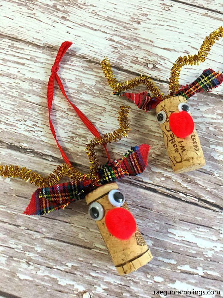 New 40 Diy Christmas ornaments that Bring the Joy Homelovr Christmas Reindeer ornaments Of Adorable 44 Pictures Christmas Reindeer ornaments