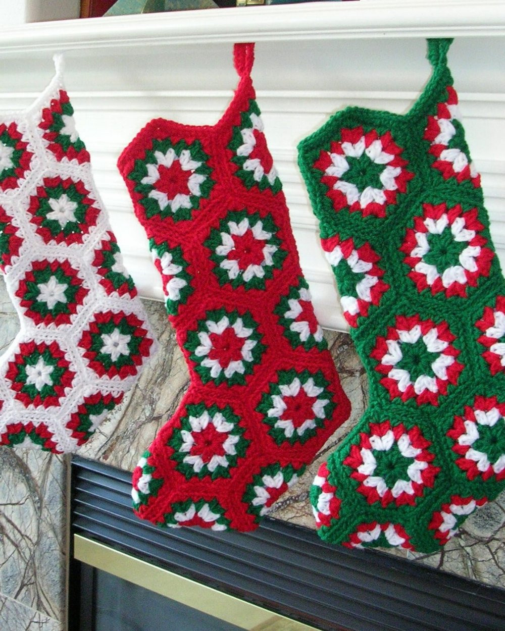 New 50 Beautiful Christmas Stocking Ideas and Inspirations Crochet Christmas Stockings Of Contemporary 48 Pics Crochet Christmas Stockings