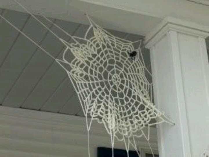 New 66 Best Images About Halloween Crochet Patterns On Crochet Spider Web Of Beautiful 48 Models Crochet Spider Web