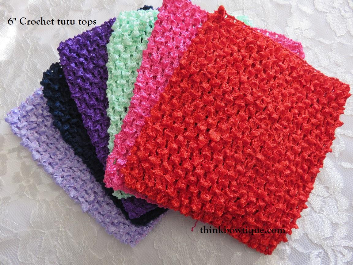 "6"" Crochet tops for tutu tops in Australia"