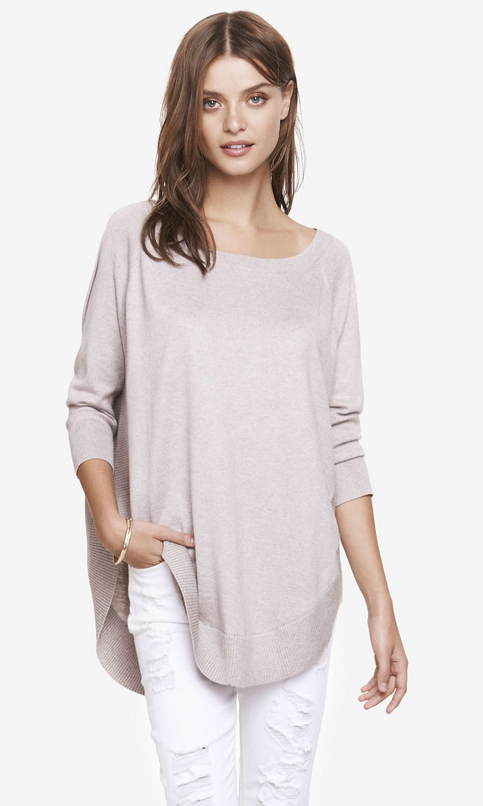 New 7 Fall 2015 Tunic Sweaters From Express Circle Sweater Of Innovative 50 Ideas Circle Sweater