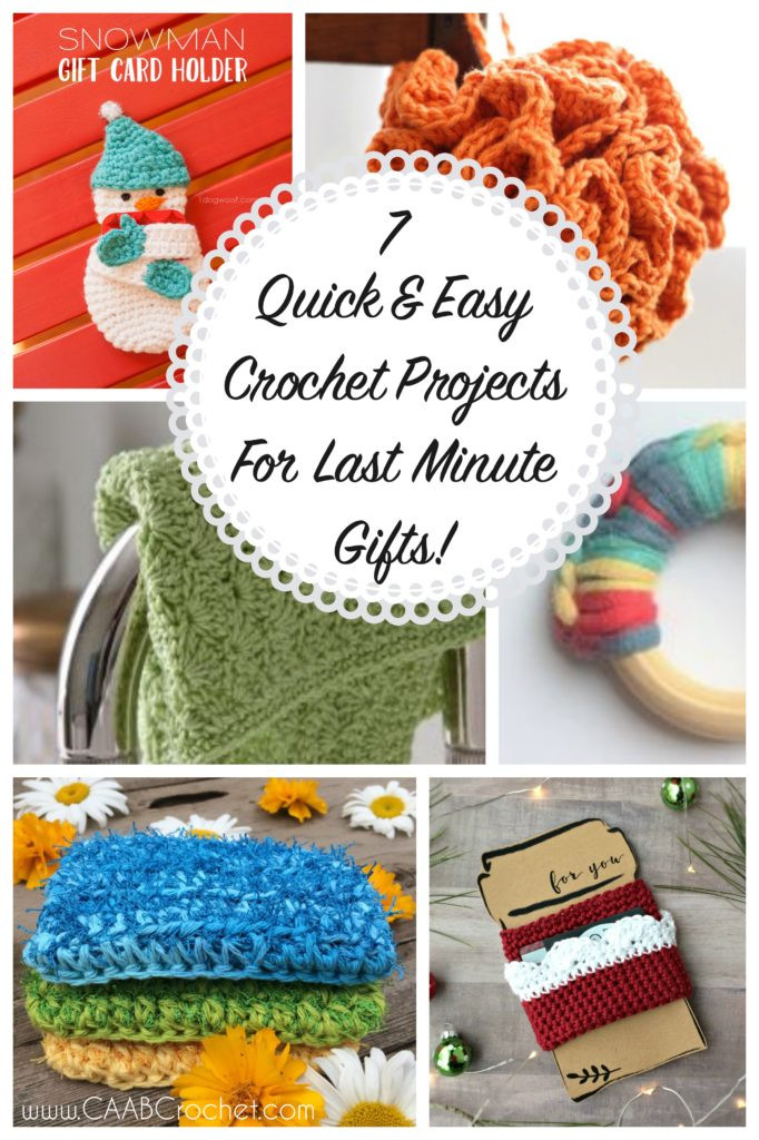 New 7 Quick and Easy Crochet Projects for Last Minute Gifts Easy Crochet Gifts Of Superb 42 Pictures Easy Crochet Gifts