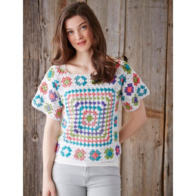 New 7o S Granny Square Crochet Sweater Pattern ⋆ Knitting Bee Granny Square Sweater Of Superb 45 Photos Granny Square Sweater