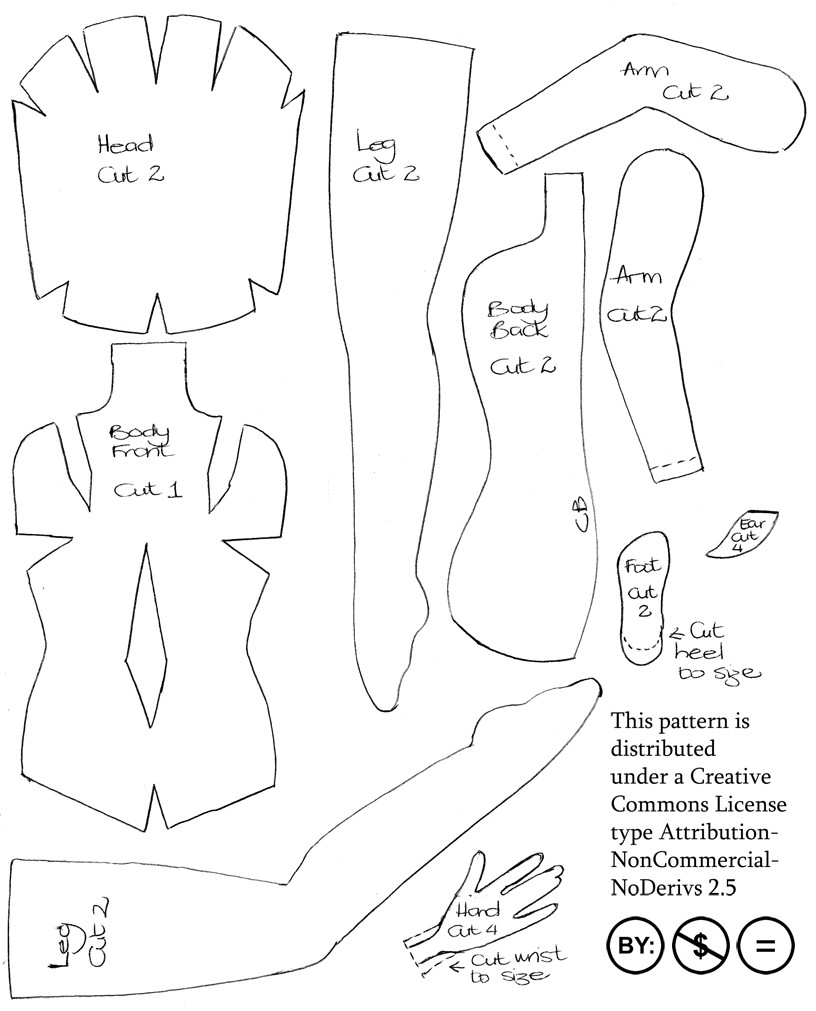 New 8 Best Of Free Doll Patterns Printable Free Free Doll Patterns Of Unique 47 Photos Free Doll Patterns