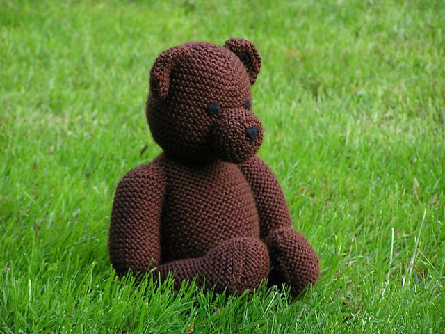 New 9 Best Images About Teddy Bears Knitted On Pinterest Knitted Bear Pattern Of Brilliant 42 Photos Knitted Bear Pattern