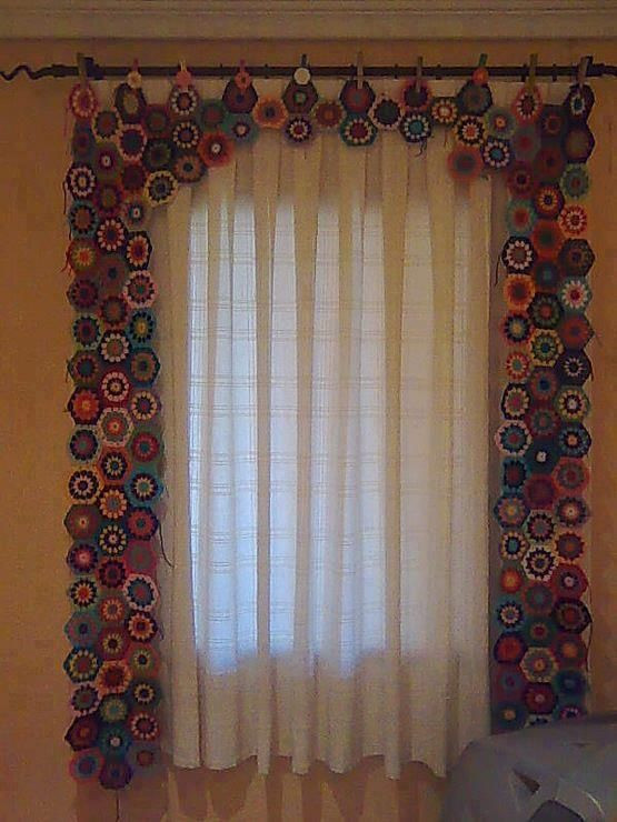 New 94 Best Images About Crocheted Curtains On Pinterest Crochet Curtains Of Marvelous 47 Pictures Crochet Curtains