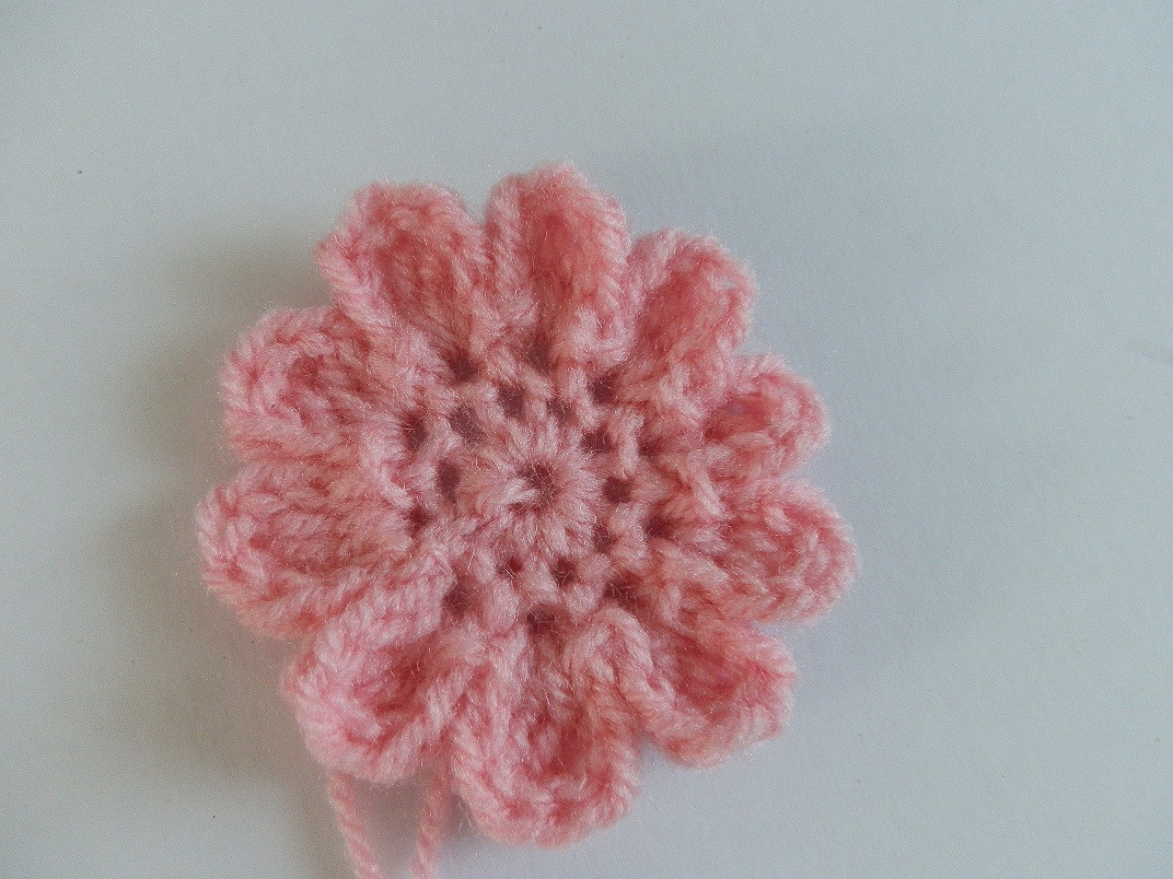 New A Beanie A Day Pink Baby Crochet Hat with Crochet Flower Crochet Flower for Baby Hat Of Beautiful 42 Ideas Crochet Flower for Baby Hat