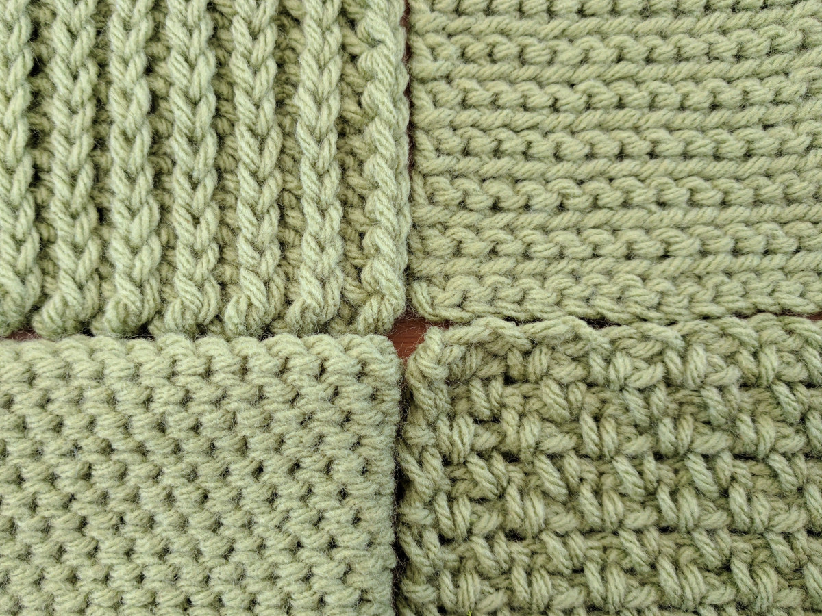 A Quick Guide to Knit Look Crochet Stitches