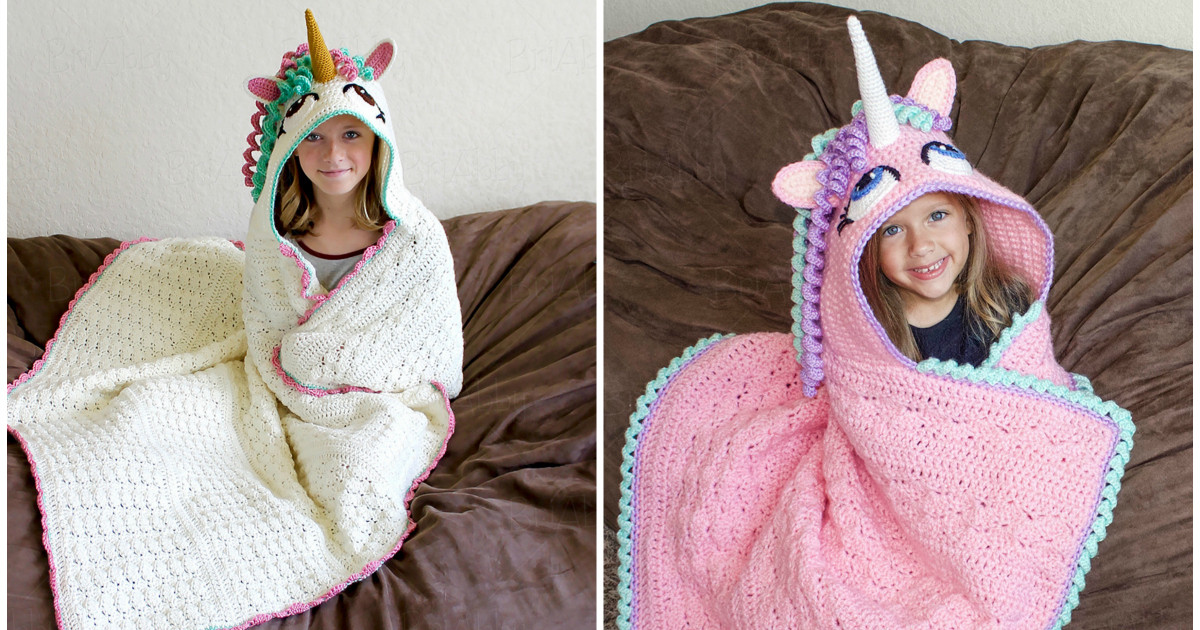 New Adorable Hooded Unicorn Blanket Crochet Pattern Crochet Unicorn Blanket Pattern Of Marvelous 48 Photos Crochet Unicorn Blanket Pattern