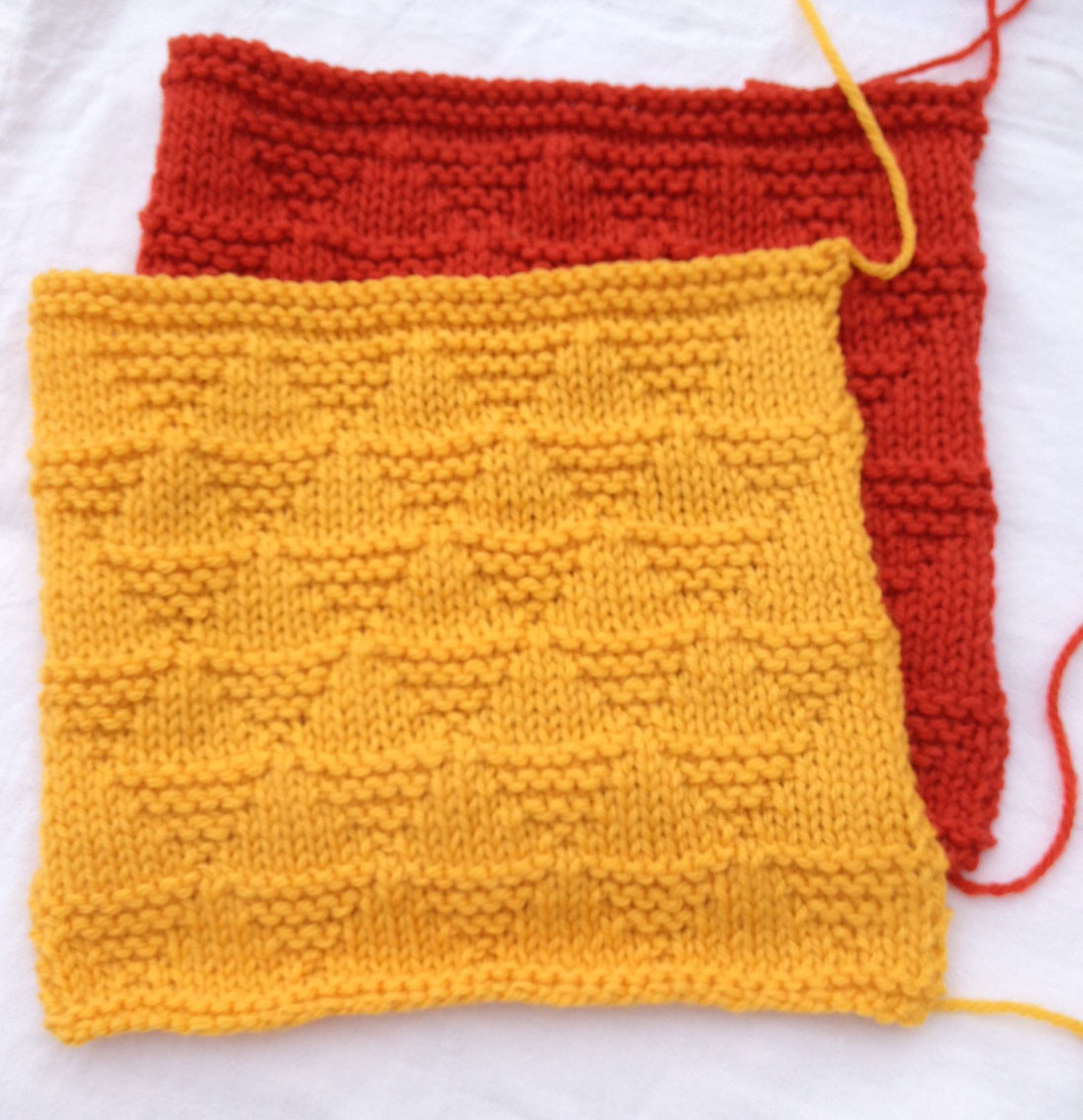 Afghan knit a long