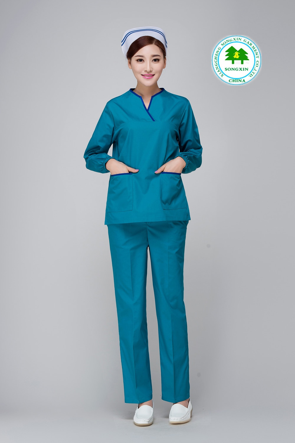 New Aliexpress Buy Free Shipping Oem Scrub Sets Long Cotton Scrubs Of Attractive 47 Models Cotton Scrubs