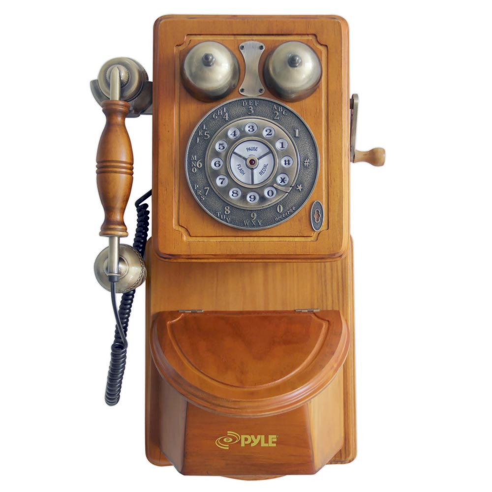New Amazon Pyle Prt45 Retro Antique Country Wall Phone Old Wooden Phone Of Adorable 43 Images Old Wooden Phone