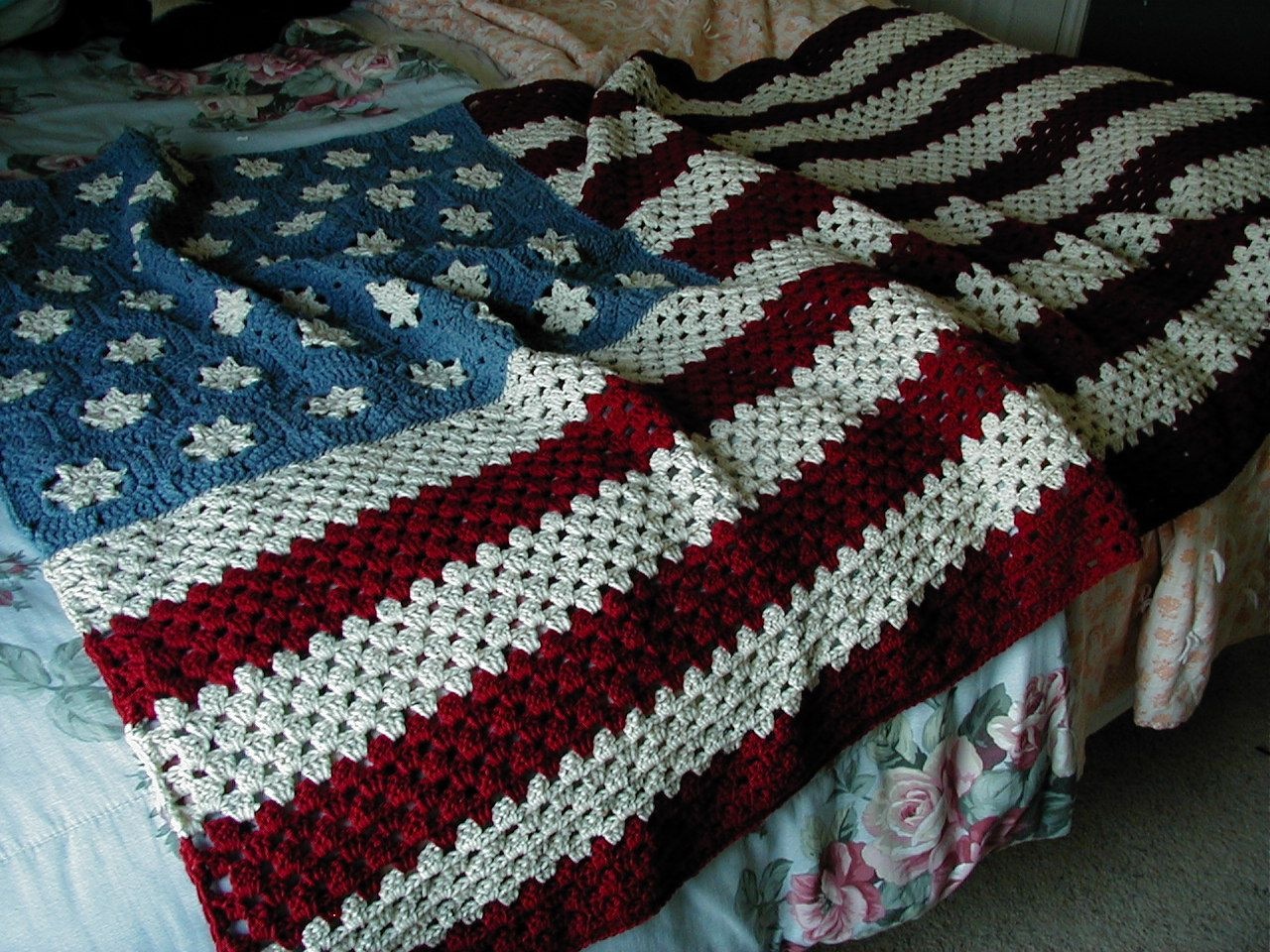 New American Flag Afghan Usually I Kinda Hate Patriotic Crochet Stuff Of Incredible 42 Pictures Crochet Stuff