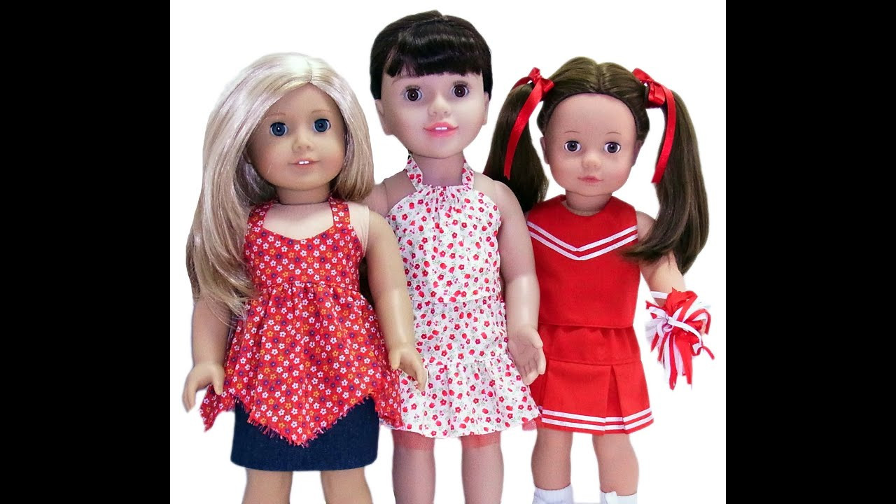New American Girl Doll Clothes Patterns 3 Way Skirt American Girl Doll Dress Patterns Of Incredible 48 Models American Girl Doll Dress Patterns
