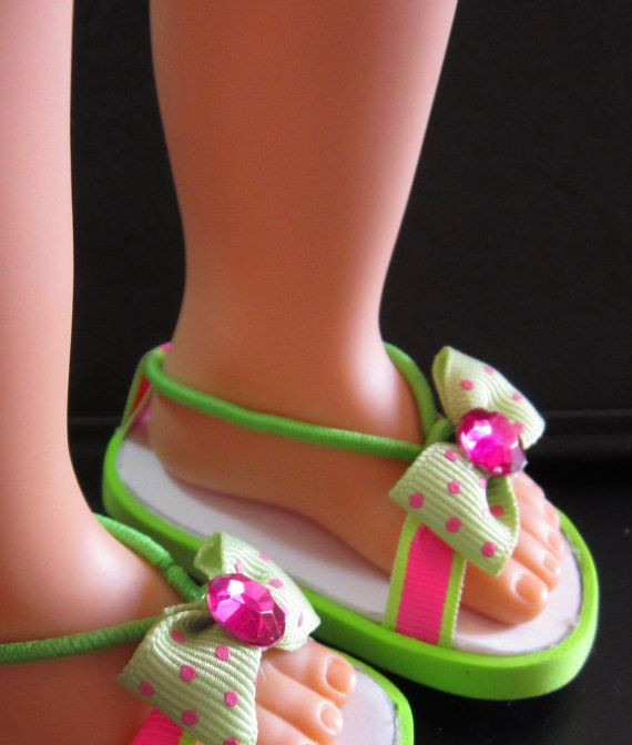 American Girl Doll sandals DIY Craft s