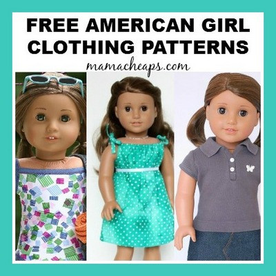 New American Girl Free Clothing Patterns American Girl Patterns Of Unique 42 Models American Girl Patterns